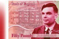 艾伦·图灵登上英国50英镑新钞
