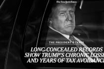 美媒爆特朗普过去15年中有10年没缴税,2016年只缴750美元联邦所得税,本人回应:完全是假新闻