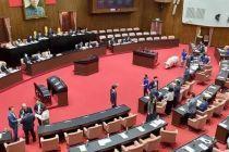 """台立法机构""""修宪委员会""""各党派名单出炉"""